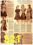 1940 Sears Fall Winter Catalog, Page 321