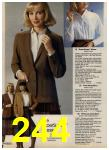 1980 Sears Fall Winter Catalog, Page 244