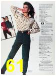 1988 Sears Fall Winter Catalog, Page 61