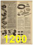 1962 Sears Spring Summer Catalog, Page 1200