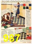 1940 Sears Fall Winter Catalog, Page 987