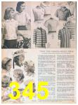 1957 Sears Spring Summer Catalog, Page 345
