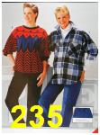 1986 Sears Fall Winter Catalog, Page 235