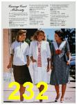 1988 Sears Spring Summer Catalog, Page 232