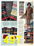 1969 Sears Fall Winter Catalog, Page 497
