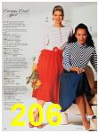 1988 Sears Spring Summer Catalog, Page 206