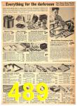 1942 Sears Spring Summer Catalog, Page 489