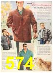 1956 Sears Fall Winter Catalog, Page 574