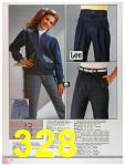 1986 Sears Fall Winter Catalog, Page 328