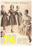 1960 Sears Fall Winter Catalog, Page 74