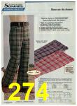 1974 Sears Fall Winter Catalog, Page 274