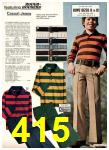 1975 Sears Fall Winter Catalog, Page 415