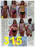 1991 Sears Spring Summer Catalog, Page 315