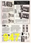 1972 Sears Fall Winter Catalog, Page 947