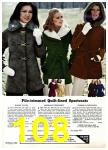 1975 Sears Fall Winter Catalog, Page 108