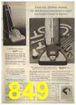 1960 Sears Spring Summer Catalog, Page 849