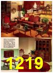 1966 Montgomery Ward Fall Winter Catalog, Page 1219