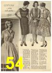 1960 Sears Spring Summer Catalog, Page 54