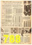 1962 Sears Fall Winter Catalog, Page 788