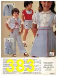 1981 Sears Spring Summer Catalog, Page 383