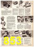 1969 Sears Fall Winter Catalog, Page 853