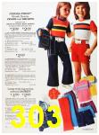1973 Sears Spring Summer Catalog, Page 303