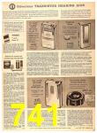 1956 Sears Fall Winter Catalog, Page 741