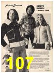 1973 Sears Fall Winter Catalog, Page 107