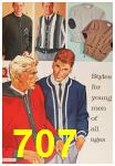 1963 Sears Fall Winter Catalog, Page 707