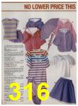 1984 Sears Spring Summer Catalog, Page 316