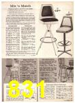1969 Sears Fall Winter Catalog, Page 831