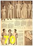 1949 Sears Spring Summer Catalog, Page 70