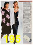 1988 Sears Spring Summer Catalog, Page 195