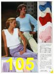 1985 Sears Spring Summer Catalog, Page 105