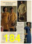 1968 Sears Fall Winter Catalog, Page 184