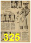 1962 Sears Spring Summer Catalog, Page 325