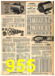 1962 Sears Fall Winter Catalog, Page 955