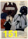 1980 Sears Fall Winter Catalog, Page 151