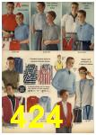 1959 Sears Spring Summer Catalog, Page 424