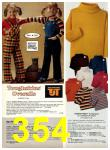 1977 Sears Fall Winter Catalog, Page 354