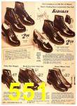 1940 Sears Fall Winter Catalog, Page 551