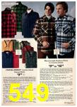 1975 Sears Fall Winter Catalog, Page 549