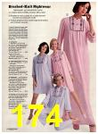 1974 Sears Fall Winter Catalog, Page 174