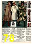1977 Sears Fall Winter Catalog, Page 78