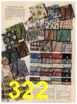 1960 Sears Spring Summer Catalog, Page 322