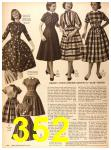 1956 Sears Fall Winter Catalog, Page 352