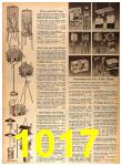 1964 Sears Spring Summer Catalog, Page 1017