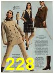 1968 Sears Fall Winter Catalog, Page 228