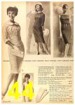 1962 Sears Fall Winter Catalog, Page 44