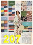 1957 Sears Spring Summer Catalog, Page 207